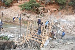 The Water Project: Kyamwalye Community -  Many Hands