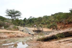 The Water Project: Kyamwalye Community -  Construction Site