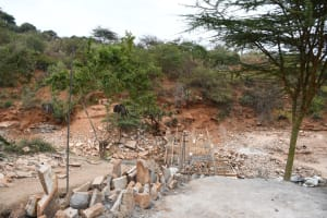The Water Project: Kyamwalye Community -  From The Side