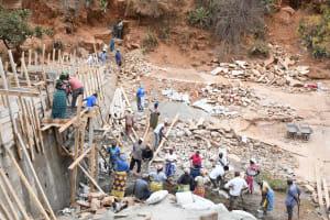 The Water Project: Kyamwalye Community -  A Community At Work