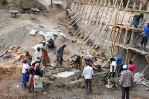 The Water Project: Kyamwalye Community -  Everyone Helping