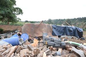 The Water Project: Kyamwalye Community -  Gathered Materials