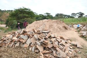 The Water Project: Kyamwalye Community -  Getting Ready