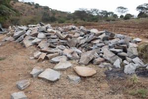 The Water Project: Kyamwalye Community -  Stone