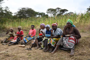 The Water Project: Kyamwalye Community -  Lunch Break
