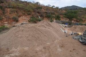 The Water Project: Kyamwalye Community -  A Whole Lot Of Sand