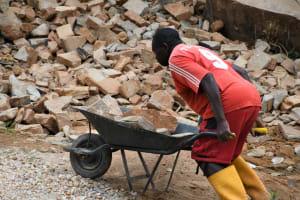 The Water Project: Kyamwalye Community -  Hard Work