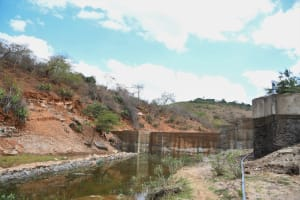The Water Project: Kyamwalye Community -  Complete Dam And Well