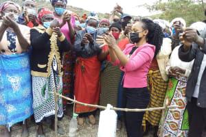 The Water Project: Kyamwalye Community -  Handwashing