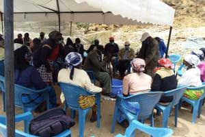 The Water Project: Kyamwalye Community -  Mixing Soap