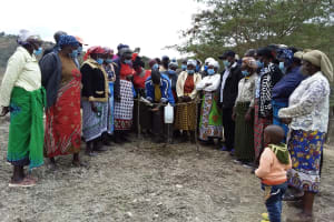The Water Project: Kyamwalye Community -  Participant Handwashing