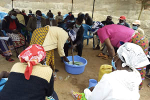 The Water Project: Kyamwalye Community -  Soap In Progress