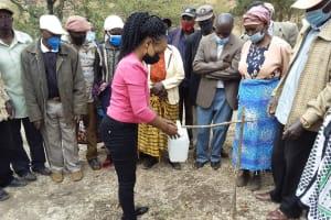 The Water Project: Kyamwalye Community -  Tippy Tap