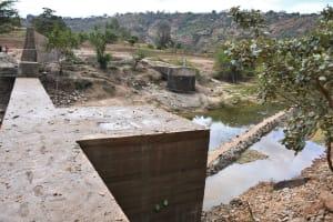 The Water Project: Kyamwalye Community -  Dam And Well