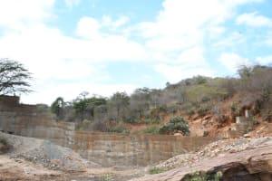 The Water Project: Kyamwalye Community -  A Beautiful Dam