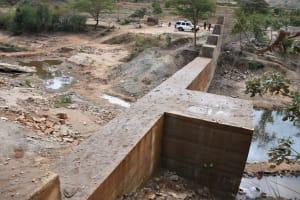 The Water Project: Kyamwalye Community -  Dam From Above