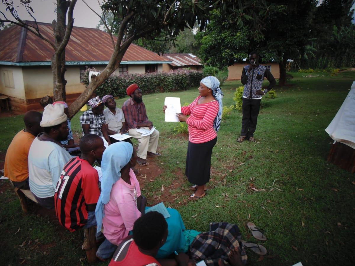 15 kenya4720 Josephine Mugeha at the training
