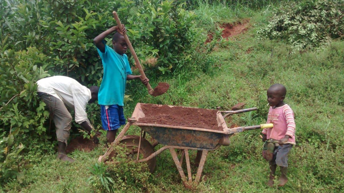 25 kenya4720 collecting materials