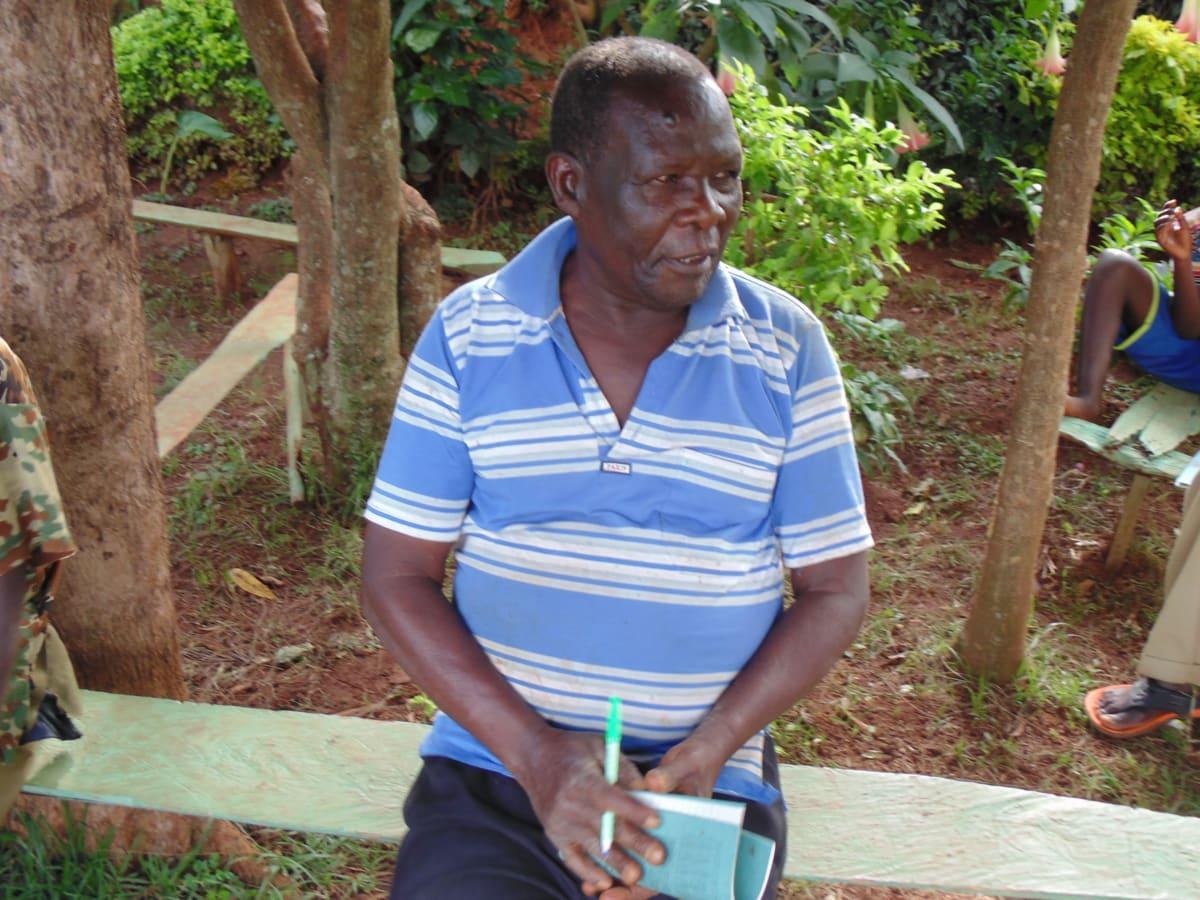 10 kenya4719 Harrison Kamadi listening during the training sessions