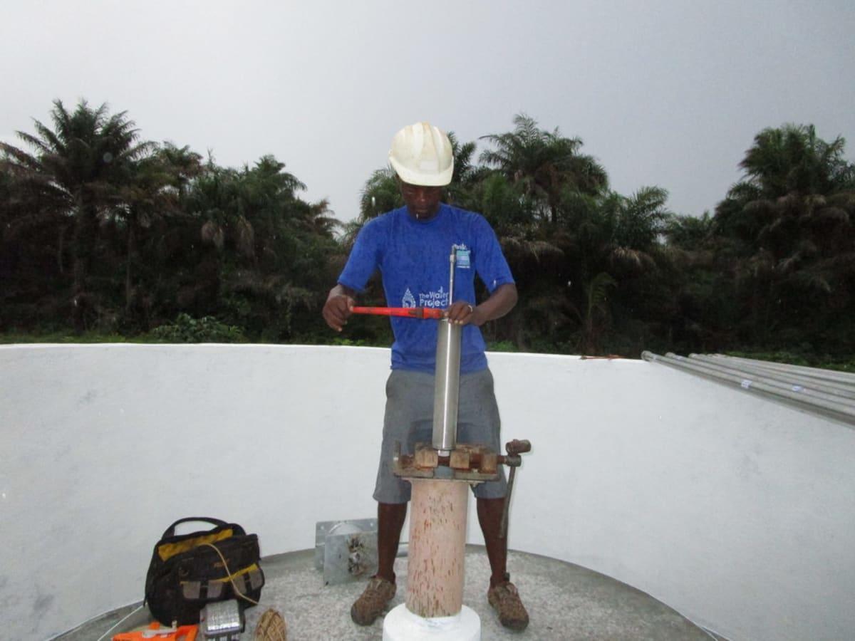 12 sierraleone5121 pump installation