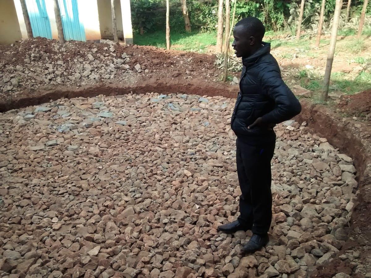 8 kenya4663 field officer inspecting foundation work