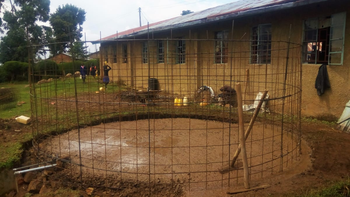 8 kenya4655 tank foundation