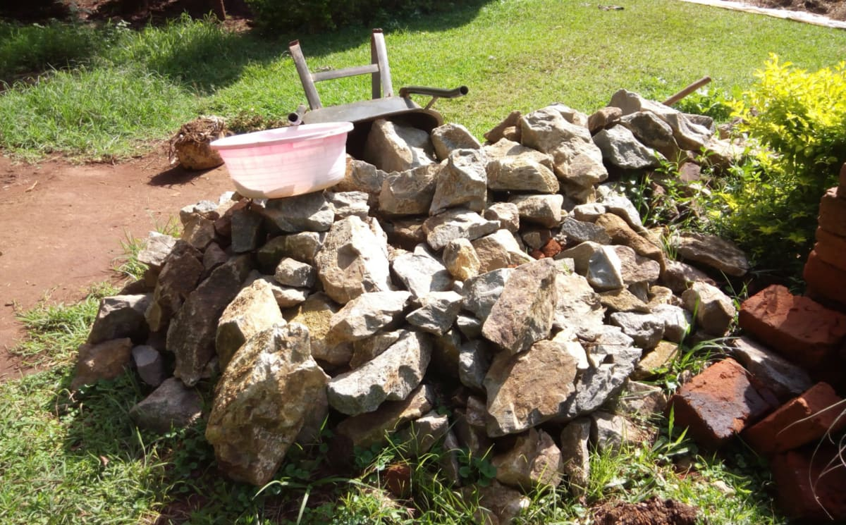 8 kenya4847 stones collected for construction