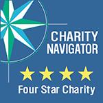 4-Star Charity Navigator Rated
