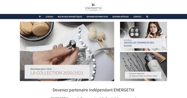 Bijoux magnétiques Energetix revenus complementaires