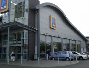 Aldi supermarket in Bedworth