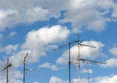 Analogue TV antenna