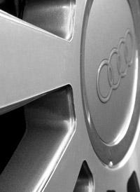 Audi car wheel