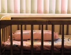 A babies cot