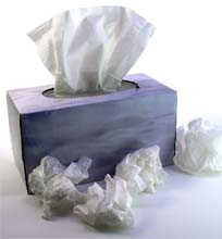Sneeze - need a box of tissues?