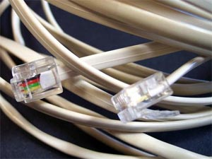 A nest of cables
