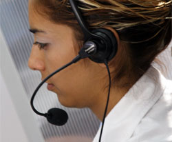 Call centre staff suffer abuse too