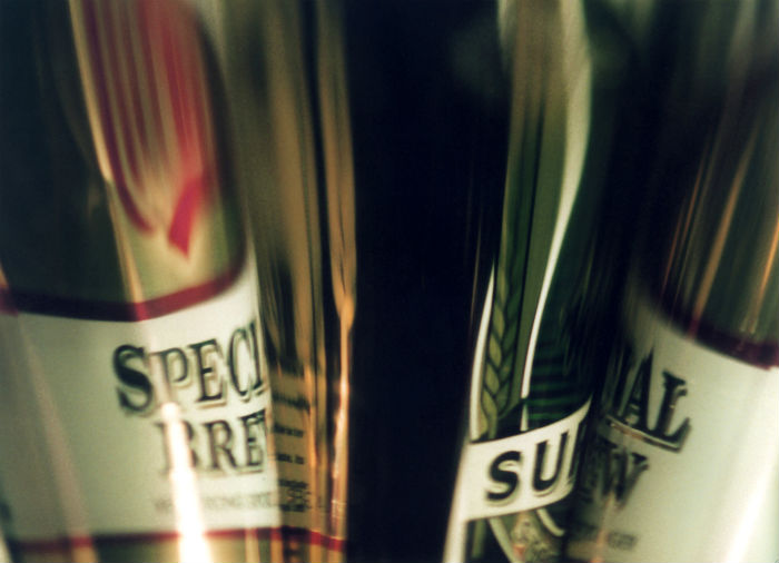 Cans of special brew - inconsiderate people on benefits partying all night