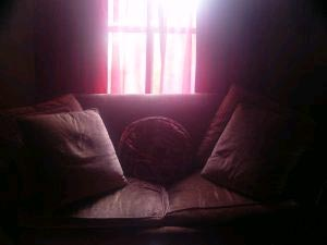A livingroom couch