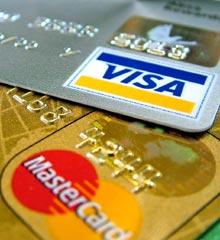 Credit cards - ordering online with Debenhams