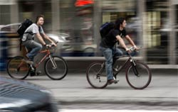 Cyclists should obey the highway code