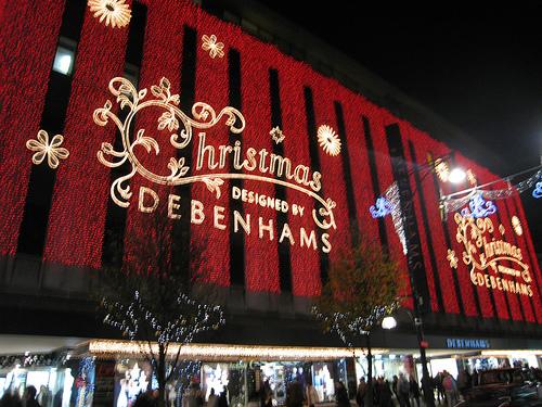 Debenhams Christmas Gift Voucher - hard to use?