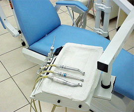A dentists chair