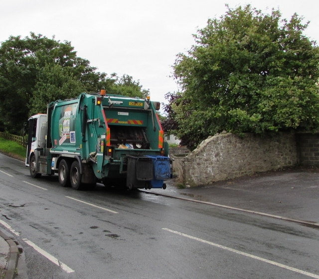 Dustcart driver - impatient and wants to leave early