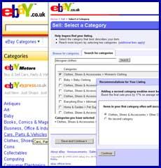 eBay seller - listing designer clothes