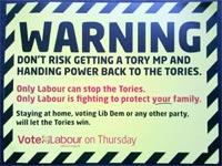 Election leaflets