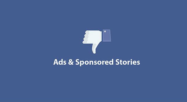 Facebook ads, annoying flashing ads on websites