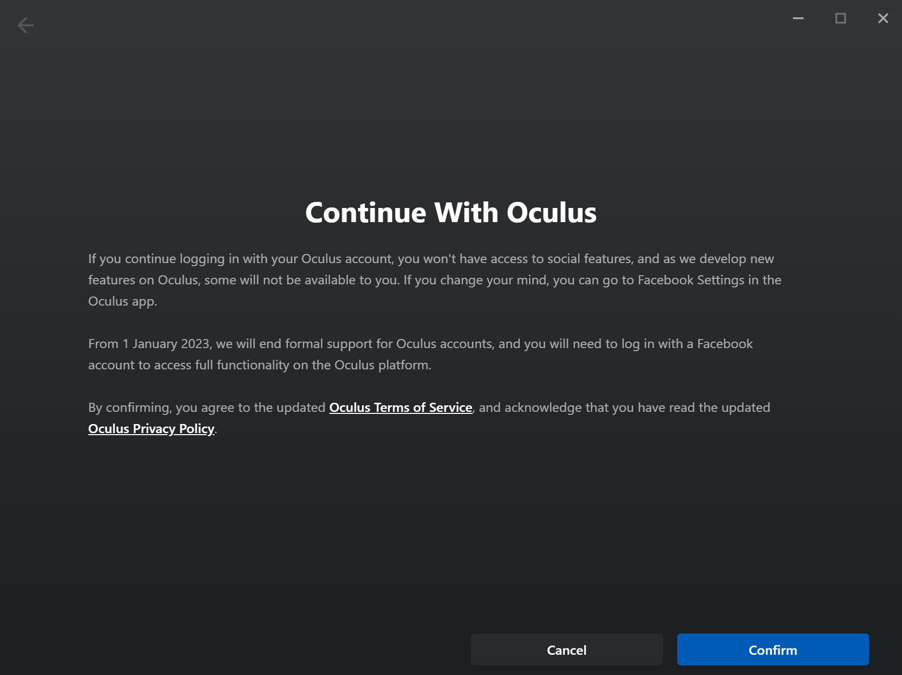 Facebook Account required for Oculus Rift - Fuck that!