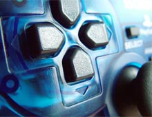 A games console
