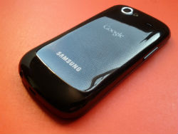 A Google Nexus S Android mobile phone