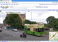 Google Street View UK and privacy concerns